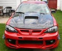 2002 Pontiac Grand Am GT, Vis Carbon Fiber Hood, exterior, gallery_worthy