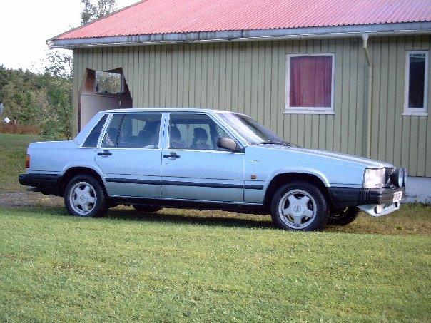 Volvo 340 Gle. 1989 Volvo 740, Vovo 740 GLE