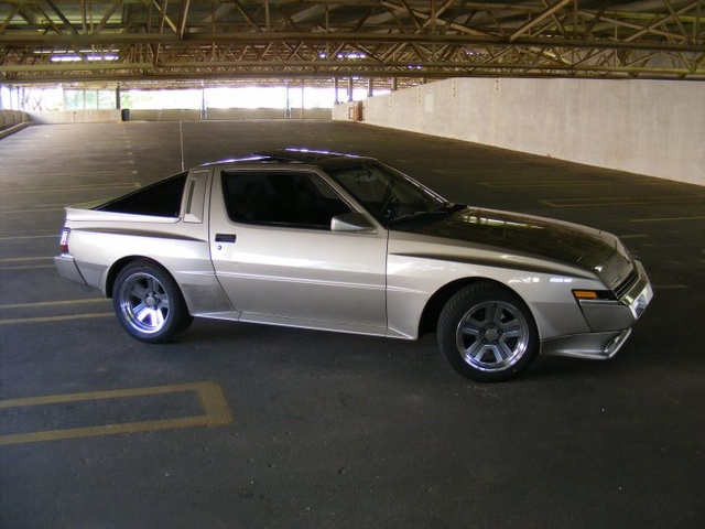 1988 Mitsubishi Starion, My Starion, exterior