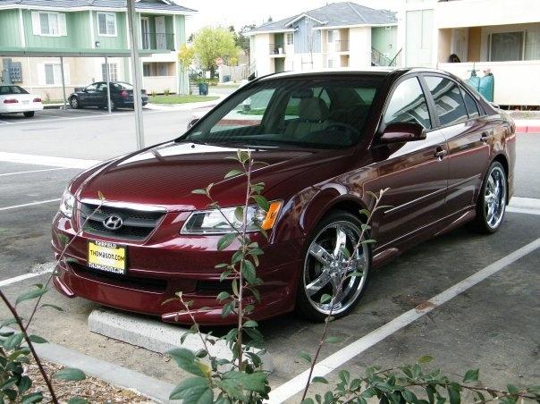 Picture of 2008 Hyundai Sonata Limited V6, exterior