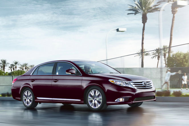 2011 Toyota Avalon, side view, manufacturer, exterior