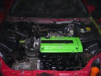1997 Honda Civic Coupe picture, engine