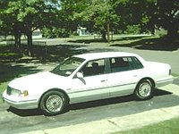 1993 Lincoln Continental 4 Dr Executive Sedan, my pimptastic Lincoln from... summer of 2001, exterior, gallery_worthy
