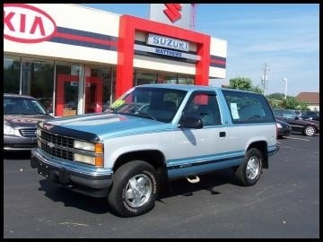 1992 Chevrolet Blazer Silverado 2-Door 4WD, My new truck, exterior, gallery_worthy