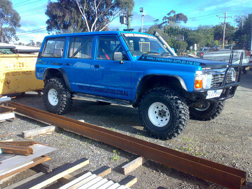 1990 Nissan Patrol, How it sits now, exterior, gallery_worthy