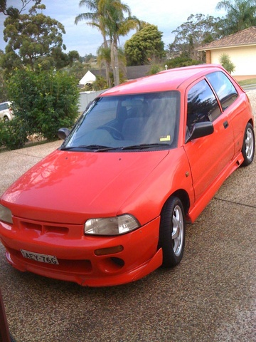 Picture of 1995 Daihatsu Charade, exterior