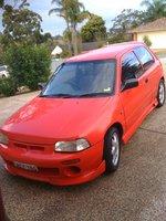 1995 Daihatsu Charade Overview