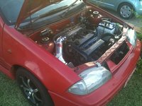 1995 Suzuki Swift 2 Dr STD Hatchback, harrrrrrrrrrrd!, engine