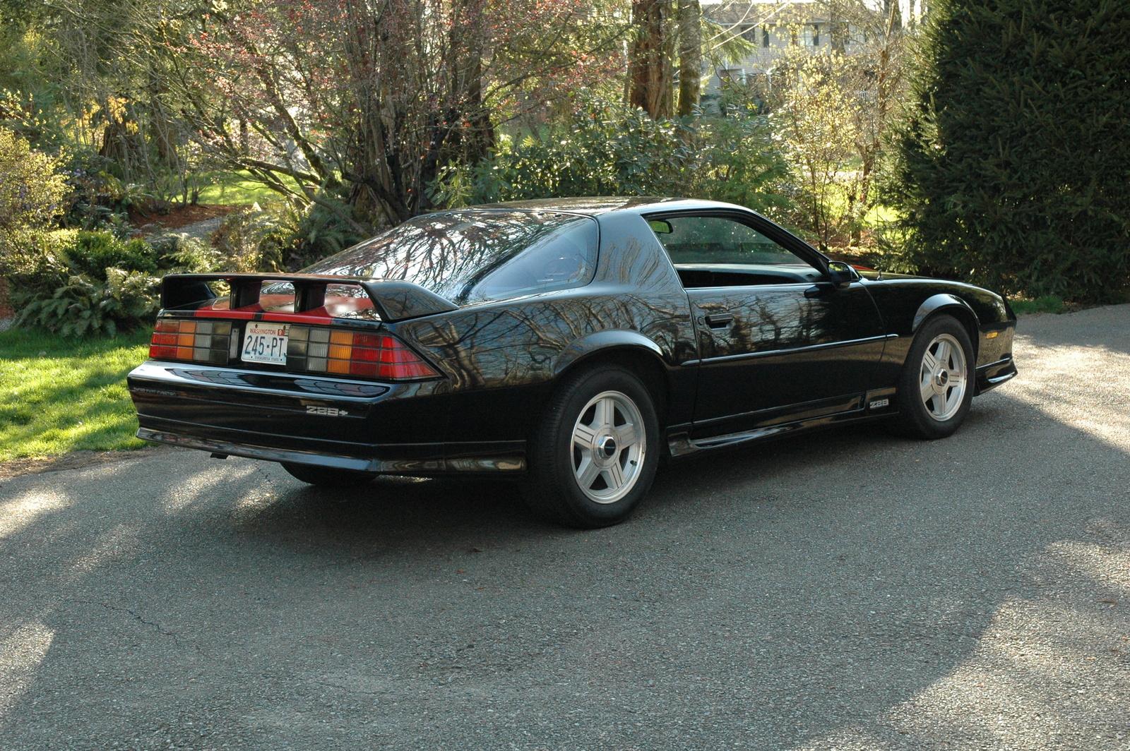 1992 chevrolet camaro - exterior pictures