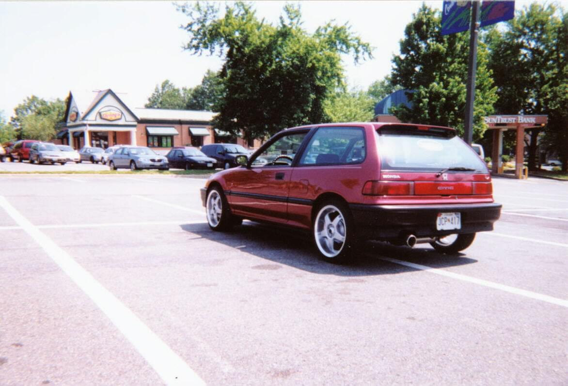 picture of 1990 honda civic dx hatchback exterior. Black Bedroom Furniture Sets. Home Design Ideas