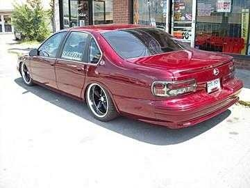 1996 Chevrolet Caprice Base, finish look only paint is left to do,350 lt1 second generation,chip,p-flow,ajustable thermostat,for electric fan,etc...bigger ,injectors,trotlle body twin 75 mm....450 hp ...