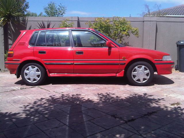 1994 Toyota Tazz, Before I decided to make this a project car., exterior, gallery_worthy