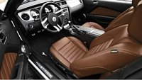 2011 Ford Mustang, seating in saddle color , interior, manufacturer