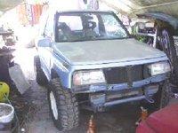 1990 Suzuki Sidekick 2 Dr JX 4WD SUV, Bamboo rd, exterior, gallery_worthy