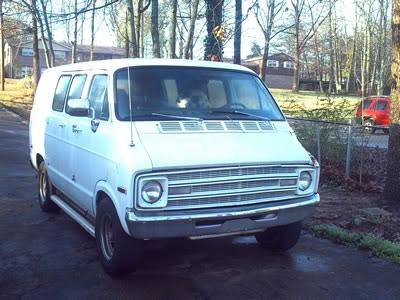 1979 Dodge Ram Van, 1977 Dodge B100 Sportsman, exterior