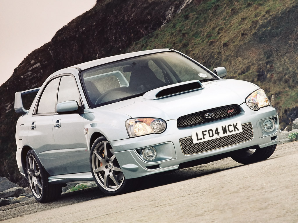 2004 Subaru Impreza WRX STi 4 Dr Turbo AWD Sedan picture