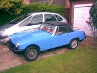 1978 MG Midget Overview