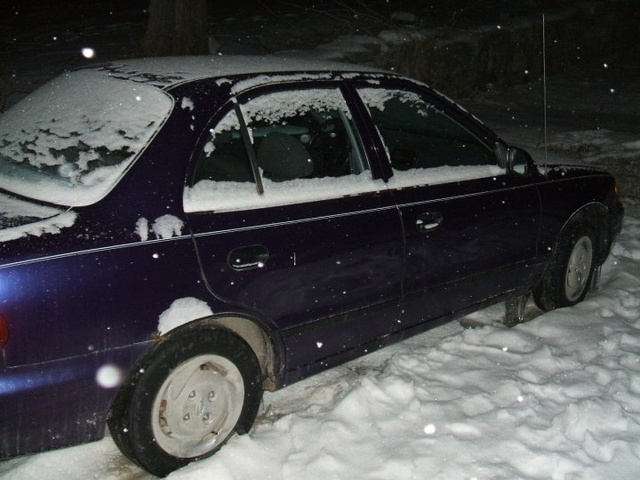 Picture of 1996 Hyundai Accent 4 Dr STD Sedan, exterior, gallery_worthy