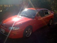 2002 Holden Commodore, When she was brand new, exterior