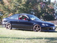 2000 Honda Civic Coupe Si, Delicious wasn't she?, exterior