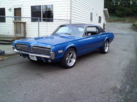 1967 Mercury Cougar, My Cougar first day back for spring break, exterior