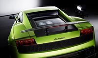 2010 Lamborghini Gallardo, back view with engine , exterior, engine, manufacturer