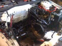 Picture of 1989 Dodge Spirit, engine