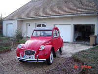 1985 Citroen 2CV, Had to get a rebuild motor and gear box. The seler was a kind of crook. Now she runs fine : 55 MpG, exterior