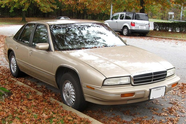 Picture of 1995 Buick Regal 4 Dr Gran Sport Sedan, exterior, gallery_worthy
