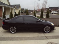 2004 Honda Civic LX, 2004 Honda Civic lx, 17 wheels (hyper black), After market wing., exterior