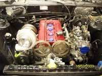 1987 Mitsubishi Starion picture, engine