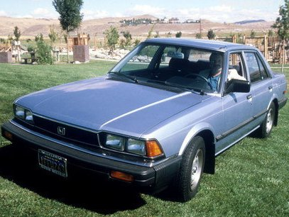 1983 honda accord overview cargurus. Black Bedroom Furniture Sets. Home Design Ideas