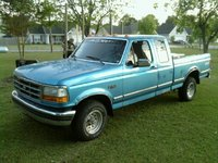 1992 Ford F-150 XLT Lariat 4WD Extended Cab SB, 1992 Ford F-150 2 Dr XLT Lariat 4WD Extended Cab SB picture, exterior