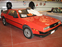 1981 Delorean DMC-12, red delorean, exterior