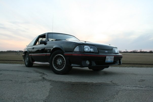 1988 Ford Mustang GT, My Second Car (First driveable car), exterior