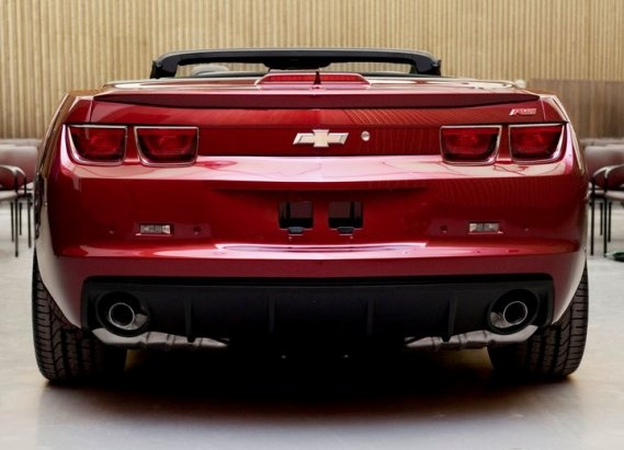 2011 Chevrolet Camaro, Back View, exterior, manufacturer, gallery_worthy