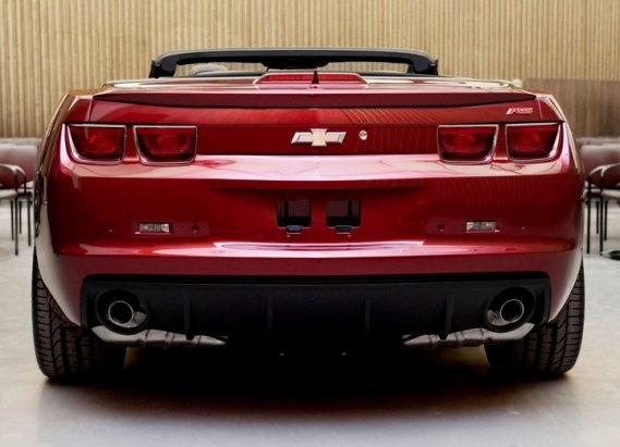 2011 Chevrolet Camaro, Back View, exterior, manufacturer