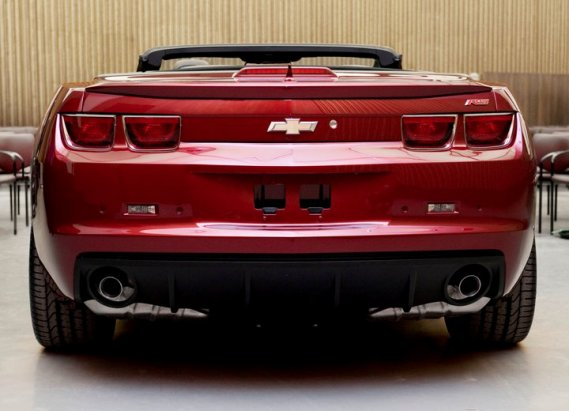 2011 Chevrolet Camaro, Back View, manufacturer, exterior