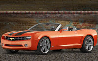 2011 Chevrolet Camaro, Front Left Quarter View, exterior, manufacturer, gallery_worthy