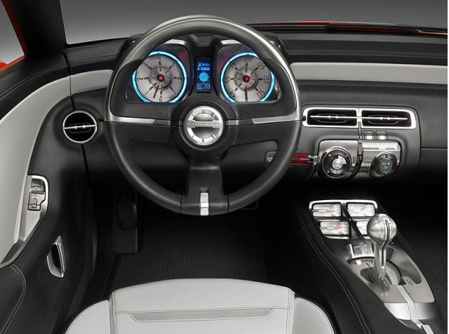 2011 Chevrolet Camaro, Engine View, interior, manufacturer