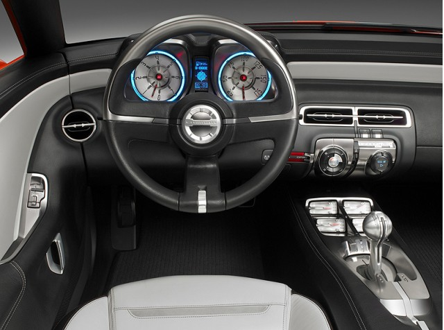 2011 Chevrolet Camaro, Engine View, manufacturer, interior