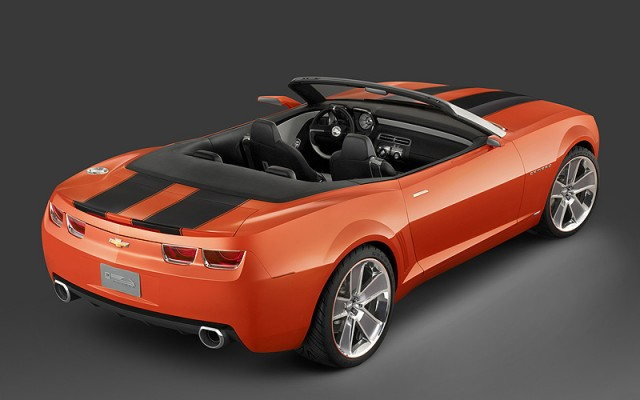 2011 Chevrolet Camaro, Back Right Quarter View, exterior, manufacturer