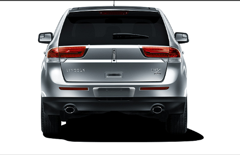2011 Lincoln MKX, Back View, exterior, manufacturer