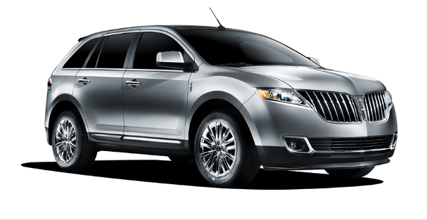 2011 Lincoln MKX, Front Right Quarter View, exterior, manufacturer