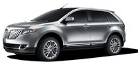 2011 Lincoln MKX, Left Side View, exterior, manufacturer