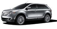 2011 Lincoln MKX, Left Side View, manufacturer, exterior