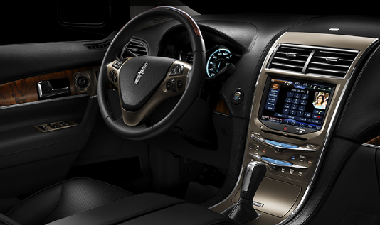 2011 Lincoln MKX, Interior View, manufacturer, interior
