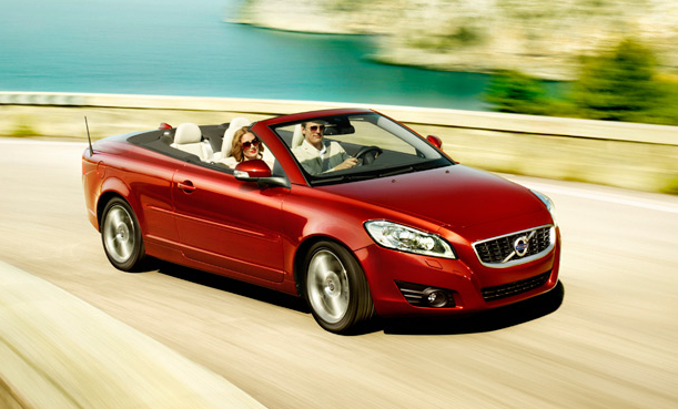 2011 Volvo C70, Front Right Quarter View, manufacturer, exterior