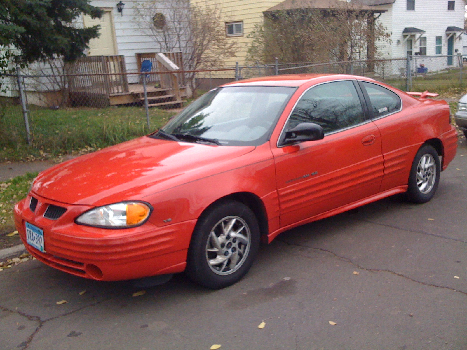 2001 Pontiac Grand Am SE Coupe picture