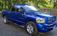 2007 Dodge Ram 1500 Sport Quad Cab RWD, my blue dodge 1500 sport, exterior, gallery_worthy